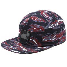 The Hundreds Tiger 5 Panel Strapback Hat (Navy Blue) $35.95 Strapback Hats, The Hundreds, Navy Blue, Fashion, Moda, Fashion Styles, Fashion Illustrations