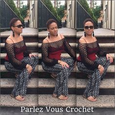 Hey, I found this really awesome Etsy listing at https://www.etsy.com/listing/233146802/crochet-overhead-sleeves-top