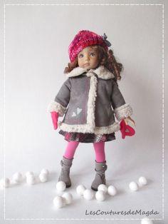 Outfit FOR Doll 13 034 Effner Little Darling Effner Tenue DE Poupée Chéries Magda | eBay