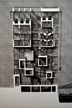 Glasgow School of Art architectural drawing