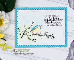 Unity Stamp Company: KOTM Monday with Heather H