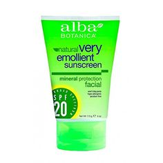 ALBA BOTANICA SUNBLOCKFACEMNRLSPF 20 4 FZ ** More info could be found at the image url. (Note:Amazon affiliate link)