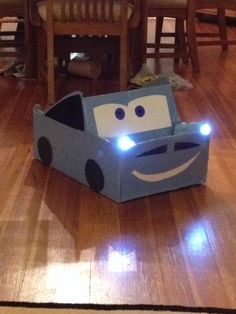 Finn McMissile costume with working headlights!