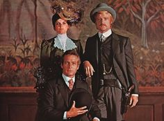 Butch Cassidy and the Sundance Kid.  I love this movie.