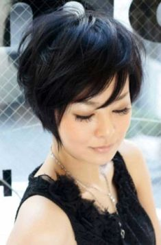 short stacked bob pixie - Google Search