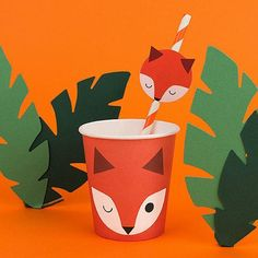 My Little Day Fox Cups | The Original Party Bag Company