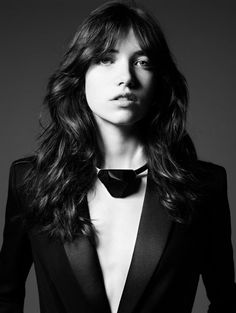 Grace Hartzel foe Saint Laurent Permanent and Pre-Fall 14