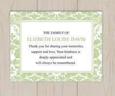 Sympathy Thank You Stamps  Rose  Sympathy Thank You Cards By