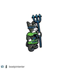 #Repost @bostpinterrier   available now!!! The @soypindejo X @bostpinterrier Rocco pin is now Available! We only made a limited amount of these and you can get them from either of our web stores for $10  #bostpindejo #soypindejo #bostpinterrier #pingame #pins #enamelpin #lapelpin #pincollection #bostonterrier #bostonterriersofinstagram #bostonterrierlove #skateboarding #skateanddestroy
