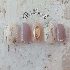 Installation of acrylic or gel nails - My Nails Simple Wedding Nails, Wedding Nails Design, Cute Nails, Pretty Nails, Korean Nail Art, Kawaii Nails, Japanese Nail Art, Nagel Gel, Flower Nails