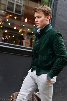 London, Men's Street Style