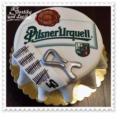 Birthday party for men :: Cakes from Lucík – Cake Types Budweiser Cake, Sweet Recipes, Cake Recipes, Types Of Cakes, Dream Cake, Cakes For Men, Pastry Shop, Mini Cheesecakes, Birthday Cake