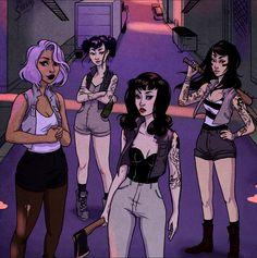 girl gang | Tumblr