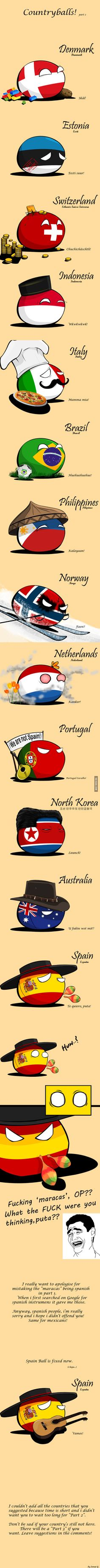Countryballs part 2 is here