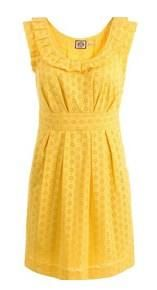 Fantasizing about yellow sundresses, red lipstick, and blue ballet flats.