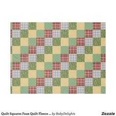 Wrap up with a Squares blanket from Zazzle! Soft & warm throws, fleece, baby blankets & more all in a huge range of designs. Discover your cozy blanket today! Edge Stitch, Outdoor Events, Square Quilt, Cuddling, Squares, Plush, Delicate, Vibrant, Quilts