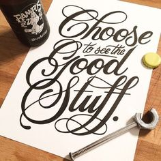 Large and small lettering. (lettering by Tim Bontan) Calligraphy Quotes, Calligraphy Letters, Typography Quotes, Typography Inspiration, Typography Letters, Caligraphy, Penmanship, Hand Lettering Quotes, Modern Calligraphy