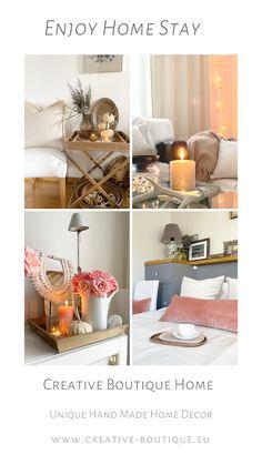 Interior decorating for fall season; terracotta velvet cushions; long lumbar pillow on bed
