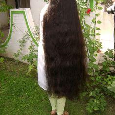 thick long hair