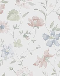 Scandinavian design wallpaper Aquarelle from collection Everyday Life by Borastapeter and Eco Wallpaper Fabric Wallpaper, Of Wallpaper, Designer Wallpaper, Vintage Floral Wallpapers, Nice Wallpapers, Floral Printables, Decoupage Paper, All Things Purple, Pattern Illustration