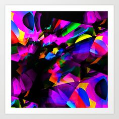 Cave-In Art Print by David  Gough - $15.00