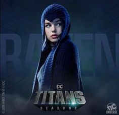 DC Universe has released four new character posters for Titans' upcoming second season, featuring Dick Grayson, Starfire, Raven, Hawk and Dove. Nightwing, Batgirl, Minka Kelly, Dc Universe, Titans Tv Series, Series Dc, Marvel Series, Netflix Series, Geoff Johns