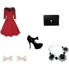"""cute drees"" by madelyn-gomez on Polyvore"