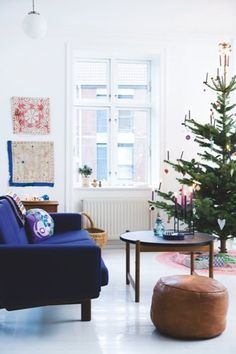 How we decorate for Christmas - our home in Bolig Magasinet December 2012
