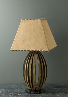 wine barrel lamp