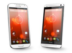 The firmware for both Google Play Edition models Samsung GALAXY S4 and HTC One was released, the download can be found here
