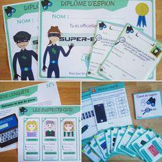 Enquête Mission pour Super Espion (Mixte) Enfant 7-10 ans