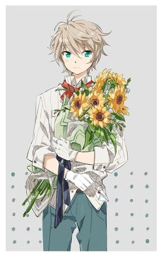 Please give me those flowers.....
