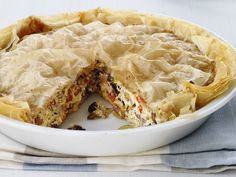 Perfect Brunch Pie for New Year's Day #EasiestHolidayEver