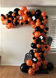 """""""Party Rentals"""" """"PJs Rentals"""" """"Rental Images"""" """"Party Equipment"""" """"Event Rentals"""" """"Balloon Delivery"""" """"Balloon Decor"""" """"Ball… - New Site Halloween Balloons, Halloween Birthday, Diy Halloween Decorations, Holidays Halloween, Halloween Themes, Halloween Diy, Halloween Images, Balloon Decorations Party, Balloon Centerpieces"""