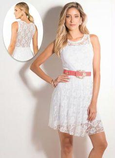 Vestido Renda (Branco)
