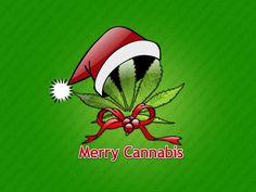 Desktop Wallpaper | Merry Cannabis free desktop background - free wallpaper image