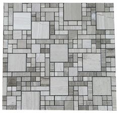 Classic Marble Multi- Grid Mosaic Tile, 1 Carton/ 11 Sheets - contemporary - Mosaic Tile - GL Stone LTD