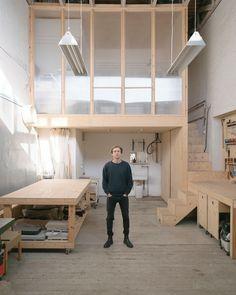 Home Studio, Dream Studio, Studio Interior, Interior Design, Interior Architecture, Interior And Exterior, Workshop Studio, Living Spaces, New Homes