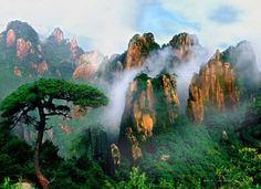Sanqingshan Mountains in east China's Jiangxi Province