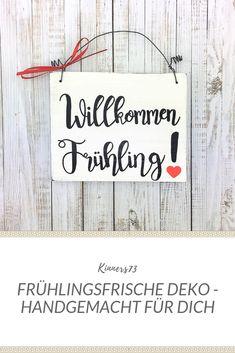 METALLSCHILD Blechschild FRÜHLING ERSTE WARME SONNENSTRAHLEN Deko Geschenk
