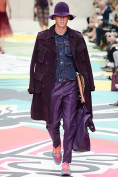 coutureleather: Burberry Prorsum SS15 RTW - Monde Des Hommes - Menswear Archive