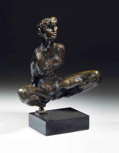 Auguste Rodin (1840-1917)   Baigneuse accroupie sans bras ni pieds, Grand Modèle   20th Century, Sculptures, Statues & Figures   Christie's