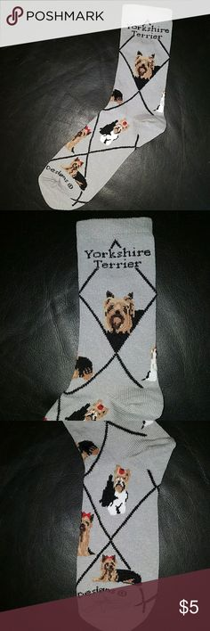 New Yorkshire Terrier socks Perfect for the Yorkshire Terrier lover Accessories Hosiery & Socks
