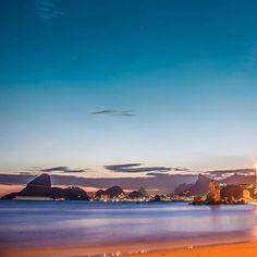 Fantastic view from Praia de Icaraí in Niterói, Rio de Janeiro, Brazil by @matheusramoskc #beautifullatinamerica   Fantástica vista desde la Praia de Icaraí en Niterói, Rio de Janeiro, Brasil #latinoamericahermosa