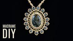 Macrame Sun Necklace - Pendant Tutorial #diy #macrame #sun #jewelry #fashion #handmadejewelry #necklace #pendant #diycrafts #diyproject #gemstonejewelry #gemstone #beadedjewelry #tutorial #jewelrydesign #macramejewelry #macramenecklace