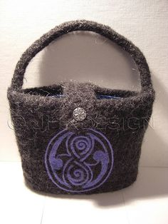 Felted pocketbook