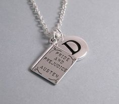 Pride and Prejudice Necklace Pride and Prejudice by charms4you, $28.00