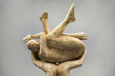 Deborah Ballard, Saving Gaia/Release I, plaster (detail), at Valley House Gallery