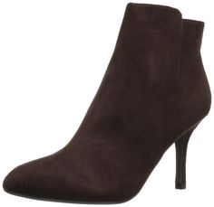 CL by Chinese Laundry Womens Sonesta Ankle Boot,Rich Brown,8.5 M US. Sleek ankle boot with covered heel and full-length instep zipper.