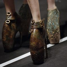 037c5487f4d5 Alexander McQueen Reissues Armadillo Boots for Charity Auction. The fashion  house is bring back three new pairs of its iconic